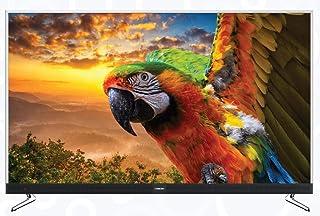 "Nikai 55"" 4K Smart Android TV with Sound Bar - Metal frame, UHD5520LEDSBT, SILVER"