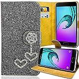 numerva Handywelt-Niefern Coque de protection à strass pour téléphone portable LG G2 Mini Gris