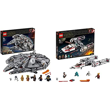 Lego 75257 Star Wars Millennium Falcon Spaceship Construction Set With Finn Chewbacca Lando Calrissian Boolio C 3po R2 D2 And D O The Rise Of Skywalker Collection Spielzeug