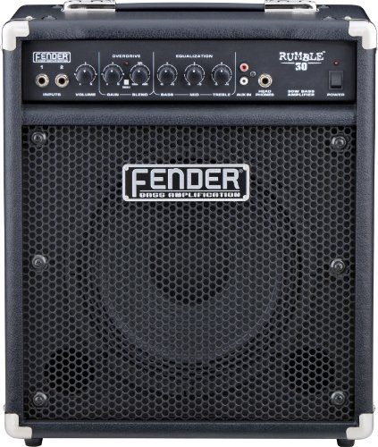 Big Sale Best Cheap Deals Fender Rumble 30 30-Watt 1x10-Inch Bass Combo Amp - Black
