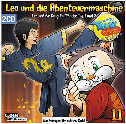 Leo und die Abenteuermaschine 11 - Leo und die Kung Fu Mönche | Bruce Lee | Karma | Kampfsport | Hörspiel für Kinder