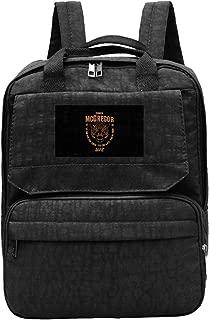 WUHONZS Travel Backpack Conor McGregor UFC 202 Tiger Food Gym Hiking Daypack College Laptop and Notebook Bag for Women & Men