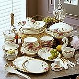 Dinnerware Sets 60 Dishes Set Jingdezhen Ceramics...