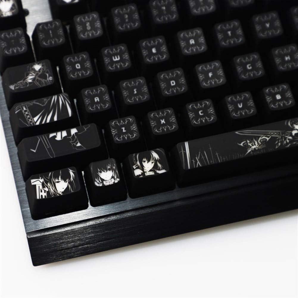 Keyboard Bargain sale keycaps discount 1 Set of High-end Fate Backlit for Sabe Keycaps