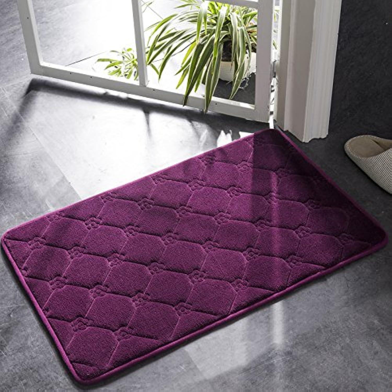 Doormat, absorbent floor mat, bedroom kitchen, bathroom mat, bathroom, slip mat, door mat, lobby carpet.-C-160x200cm(63x79inch)