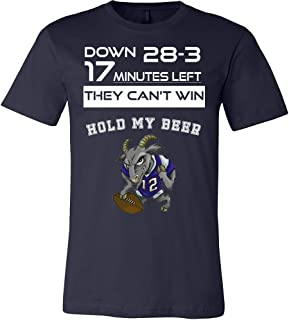 28-3 Greatest Comeback Goat Shirt - 12 Greatest of All Time Tee