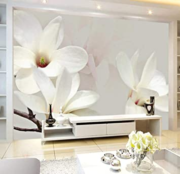 Modern Simple Fashion Lily Flower Large Wall Painting Custom Any Size 3d Wall Mural Wallpaper Background Decor Photo Wall Paper Amazon Com