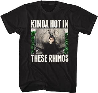 Ace Ventura Theserhinos Black Adult T-Shirt Tee