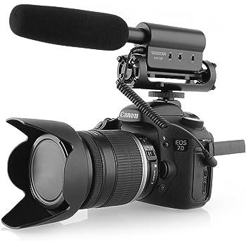 TAKSTAR SGC-598 Micrófono Cámara para entrevistas Microfono ...