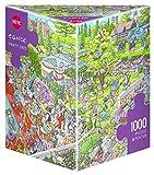 Heye 29838 - Puzzles Triangulares para Fiesta de Gatos, Tanck