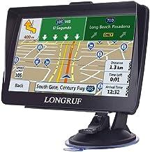 Navegación GPS para coche, pantalla HD de 7 pulgadas con visera solar navegación GPS 8GB 256MB navegación por satélite, navegación por voz, actualización de mapas gratis para toda la vida