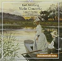 Violin Concerto by KURT ATTERBERG (2006-03-21)