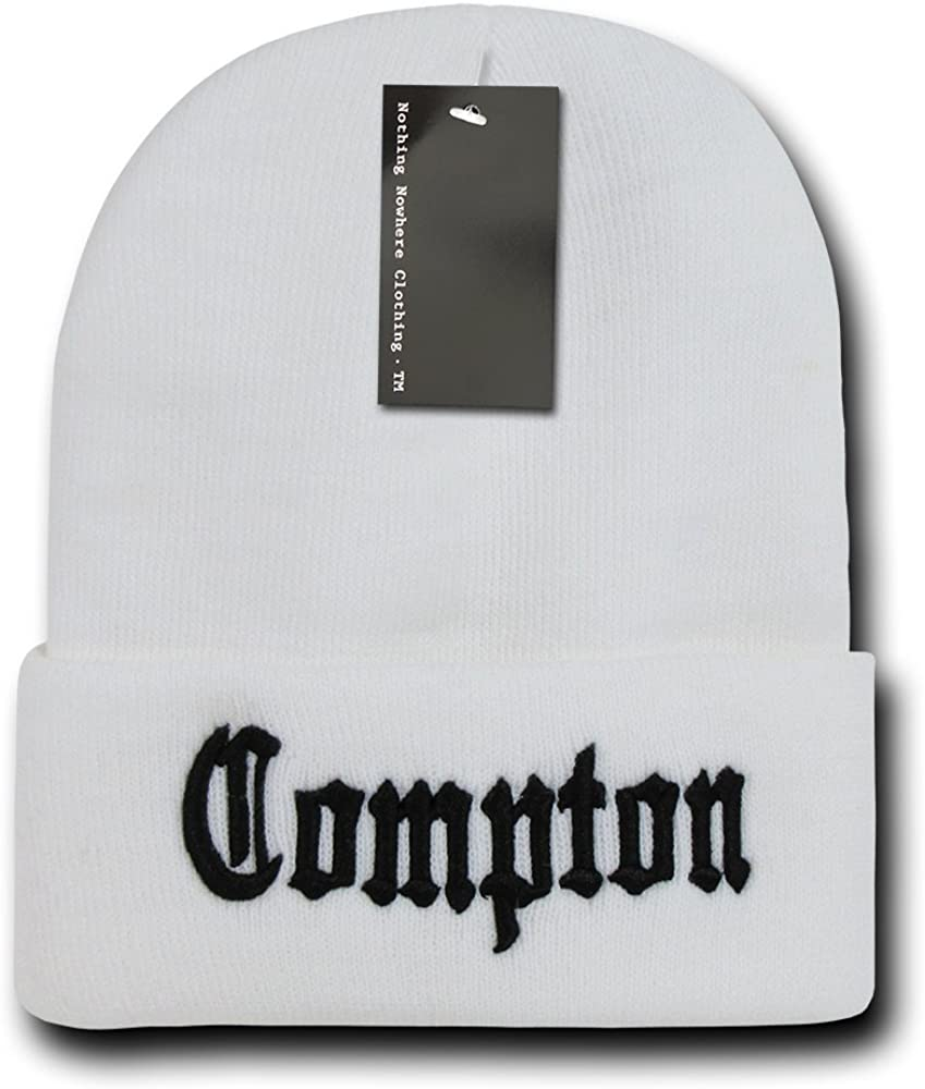 Nothing Nowhere City Max Animer and price revision 56% OFF Compton Beanies