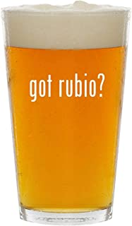 got rubio? - Glass 16oz Beer Pint