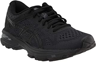 Asics Women's Gt-1000 6 Black/Silver Ankle-High Running Shoe - 5M