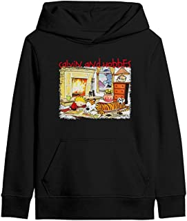 Kids Classic Pullover Hoodie Soft Hooded Sweatshirts Cartoon Poster Long Sleeve Cotton T-Shirt for Boys Girls