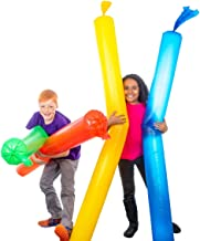 Steve Spangler Science WINDBAGS, 4 Pack – Blows Up in 1 Breath – STEM Activity for Kids – Easier to Inflate Than Regular B...