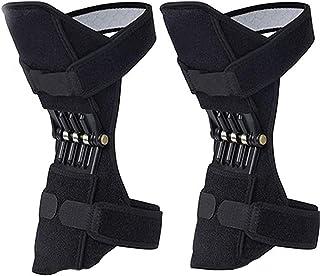 GBHJJ knäbooster ledstöd, knäbooster, 1 par ledstöd stabiliseringsdynor för män kvinnor knäfjäder stöd, för vandring, löpn...