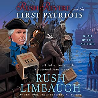 Rush Revere and the First Patriots audiobook cover art