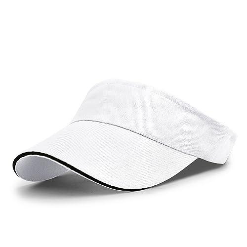 LAOWWO Tennis Golf Sun Visor Cap Hat Men Women Girls Sports Outdoor Visors  Cap Running Leisure ff61e00a71a1