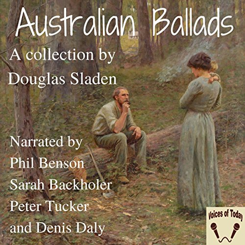 Australian Ballads audiobook cover art