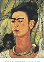 Frida Self-Portrait with Monkey, 1938 Poster Print (16 x 20)