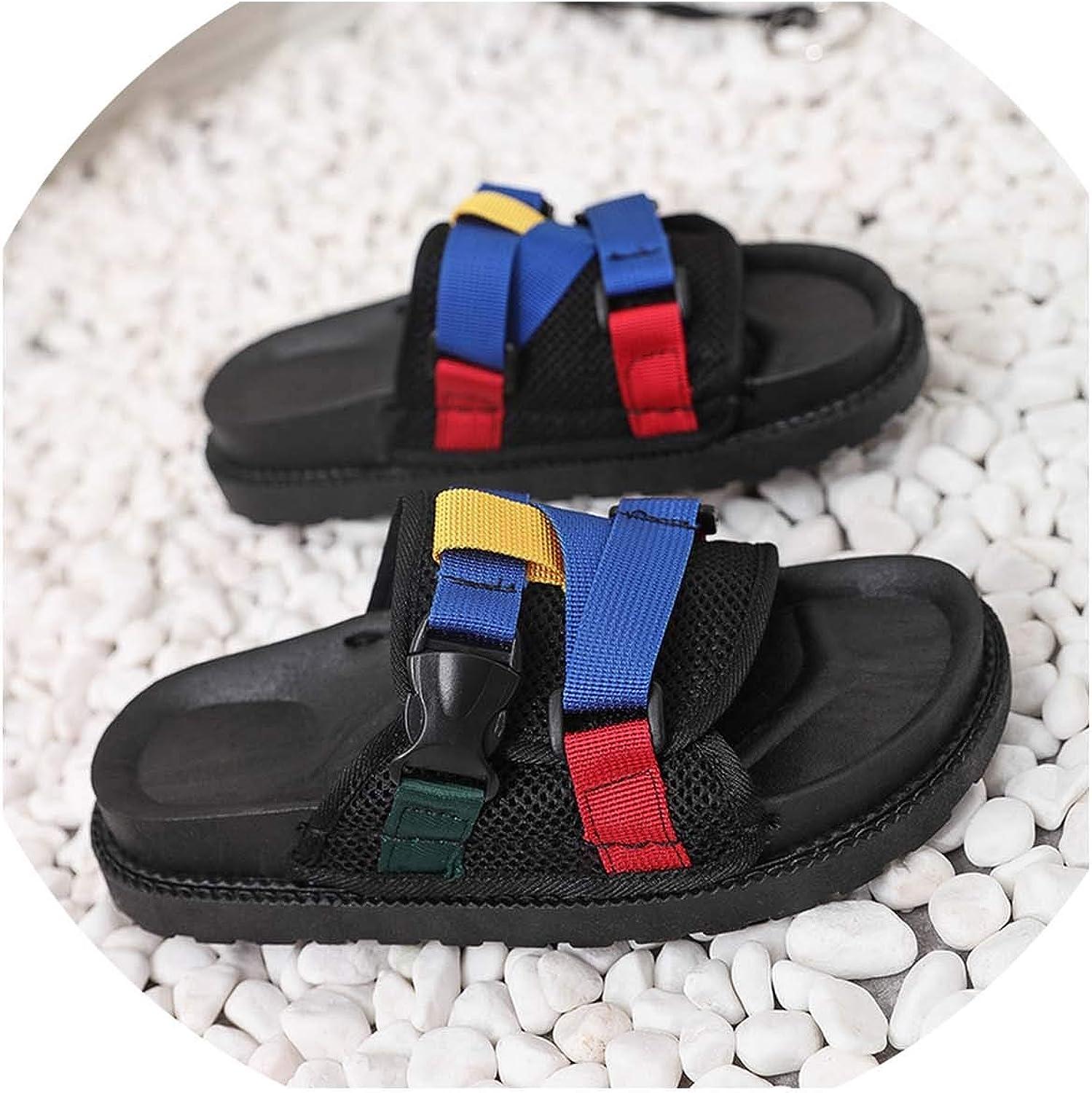 HuangKang Women's Sandals Slippers Summer Style Women's shoes Sandals Fashion Platform Women's Slippers