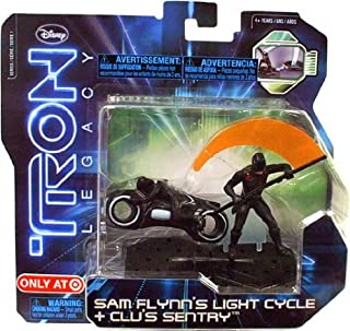 Tron Legacy Series 1 Exclusive Figure 2Pack Sam Flynns Light Cycle Clus Sentry