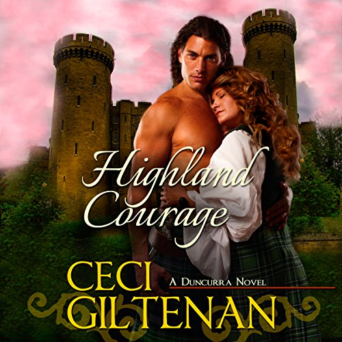 Highland Courage audiobook cover art