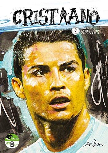 Imagicom imacal237Calendario de Pared de Cristiano Ronaldo, Papel, Color Blanco, 0,1x 30,5x 42.5cm
