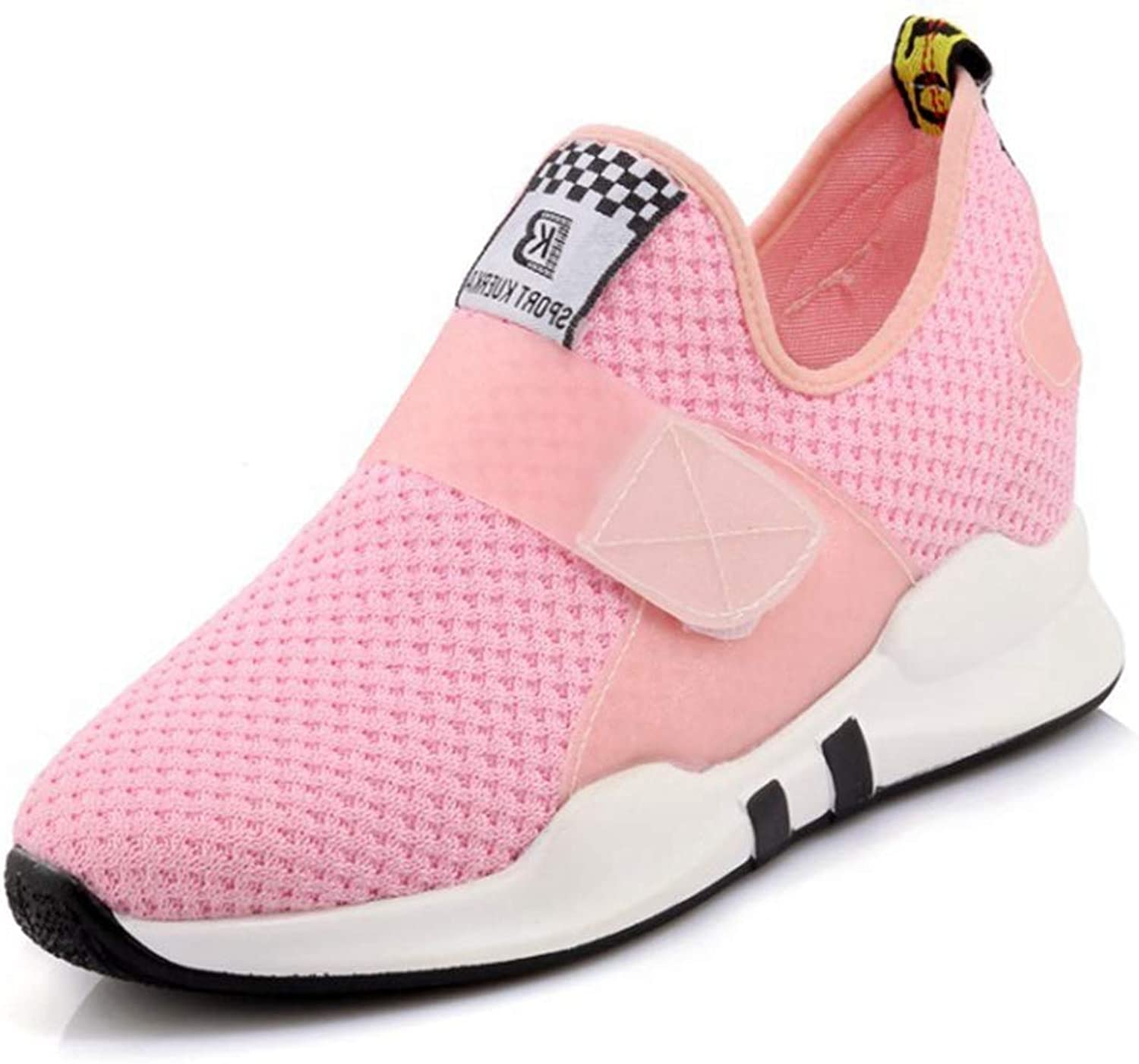 CYBLING Womens Running shoes Lightweight Slip On Walking shoes Breathable Flynit Fashion Casual Sneakers