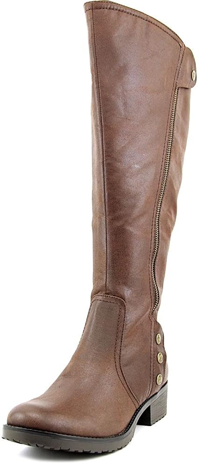 Baretraps Womens Oria2 Knee-High Round Toe Riding Boots