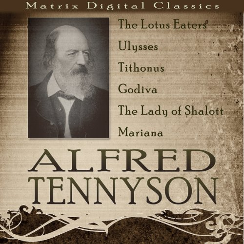 Alfred Tennyson audiobook cover art