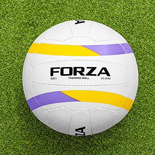Sale!! FORZA All Weather Training Netball | 100% Hand Stitched | 3D Grain (Size 4, Pack of 15)