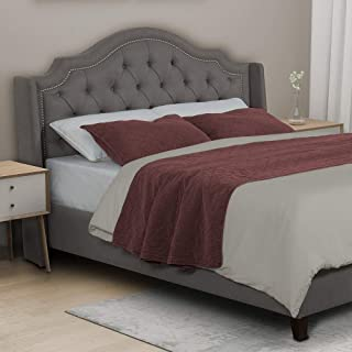 Best upholstered headboard and bed frame Reviews
