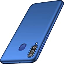 Samsung Galaxy M30 Mobile Phone case, Tianyd [Color Series] [Ultra-Thin] [Anti-Drop] Minimalist Material Ultra-Thin Protective Cover for Samsung Galaxy M30 (Smooth Blue)