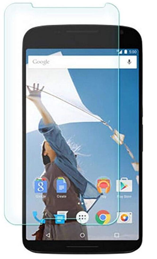 アカデミック迷彩地上でAbtory Google Nexus 6 保護ガラスフィルム, A保護ガラスフィルム 耐衝撃 指紋防止 気泡ゼロ スクラッチ防止 超薄型 強化ガラスfor Google Nexus 6 [3 Pack]