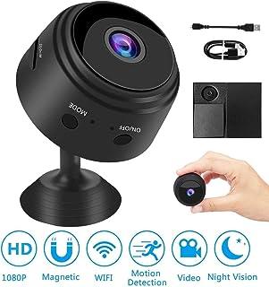 HD 1080P Mini cámara WiFi inalámbrica Oculta portátil con Sensori Night Vision