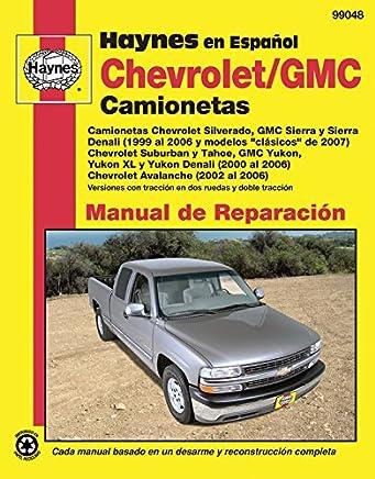 Chevrolet and GMC Camionetas Manual de Reparaci=n (Haynes Automotive Repair Manuals) (