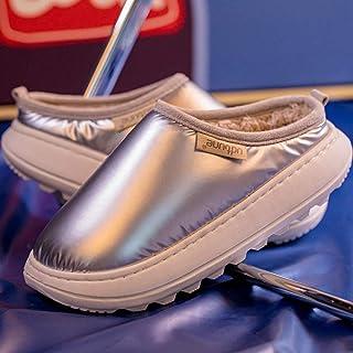 chenhe CáLido Zapatos Memory Foam Casa Antideslizante Pantuflas,Zapatos cálidos de Invierno Mujer Hombre Niños Niñas Amant...