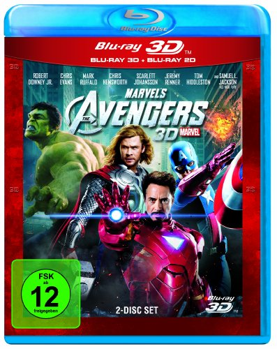 Marvel's The Avengers (+ Blu-ray 2D) [Blu-ray 3D]