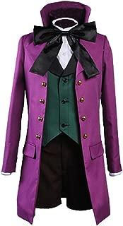 Ya-cos Kuroshitsuji Black Butler II 2 Alois Trancy Uniform Cosplay Costume Purple