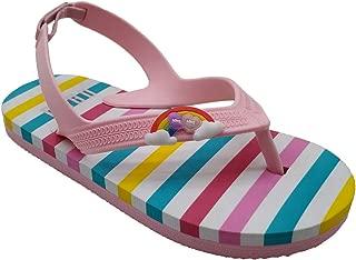Kids' Boys Girls Beach Sandals Flip Flops Fashion Rainbow Striped Colorful Love Summer Swimming Shoe