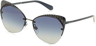 Bulgari 0Bv6096 20204L 58 Gafas de sol Azul (BluteGrey Blue) Unisex-Adulto