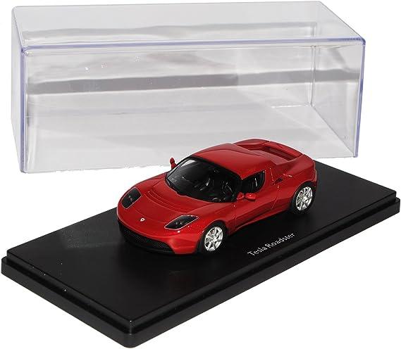Schuco Tesla Roadster Rot 2008 2012 Pro R43 1 43 Modell Auto Mit Individiuellem Wunschkennzeichen Spielzeug