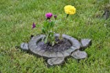 Betonex Sold Mold for Concrete Turtle Tortoise Mould Decorative Flower Garden Protection #F01
