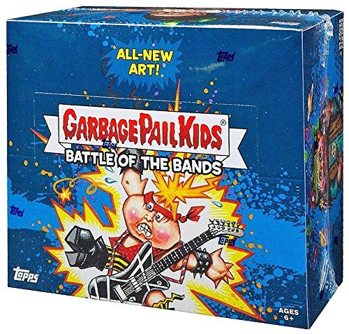 2017 Topps Garbage Pail Kids Series 2 GPK Battle of The Bands Hobby Box - 24 packs