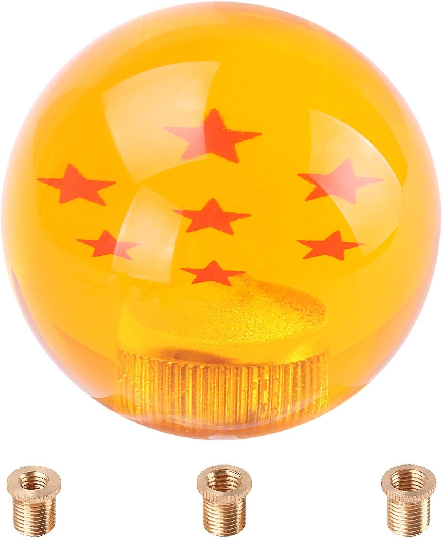 Kinstecks Dragon Ball Z Star Manual Stick Shift Knob with Adapter ...