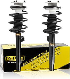 OREDY Shocks Struts 2PCS Front Struts Coil Spring Suspension Struts Assembly 171581 171582 11372 11371 Compatible with 320i 325i 330i 2001 2002 2003 2004 2005 325Ci 330Ci 01-06 323i 328i 1999 2000