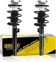 OREDY Front Pair Complete Struts Shocks Coil Spring Assembly 11372 11371 Replacement for BMW 320i 325i 330i 2001 2002 2003 2004 2005 325Ci 330Ci 2001 2002 2003 2004 2005 2006 323i 328i 1999 2000